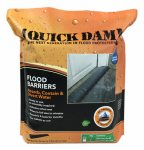 Absorbent Specialty Products QD610-1 Flood Barrier Fabric, Black, 6-In. x 10-Ft.