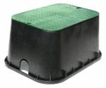 Nds 117BC Jumbo Underground Sprinkler Valve Box, 12-In. x 20-In.