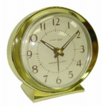 Nyl Holdings/Westclox 11605A Baby Ben Alarm Clock, Keywound, Gold