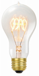 Globe Electric 01325 Vintage Edison Light Bulb, Tinted Glass, 60-Watt