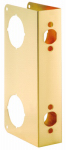 Belwith Products 2258-PB Door Reinforcer, Polished Brass