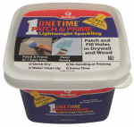 Red Devil 0540 Onetime Patch & Prime Spackling, Lightweight, 16-oz.