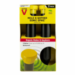Woodstream S9012 Mole & Gopher Sonic Spikes, 2-Pk.