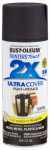 Rust-Oleum 257462 Painters Touch 2X Spray Paint, Satin Dark Walnut, 12-oz.