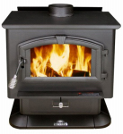 U S Stove 2000 Wood Stove, 89,000 BTU, 2,000-Sq. Ft. Coverage