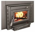 U S Stove TR004 Colonial Wood Fireplace Insert With Blower