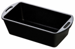 Lodge Mfg L4LP3 Cast-Iron Loaf Pan, Pre-Seasoned, 10-1/4 x 5-1/8 x 2-7/8-In.