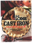 Lodge Mfg CBLCI Cast-Iron Cookbook, 288-Pages