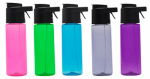 O2cool HMSSR08 Prism 24oz Mist N Sip Single Wall Hydration Bottle