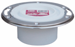 Sioux Chief Mfg 884-PTM Pipe Fitting, PVC Closet Flange, 3-In.