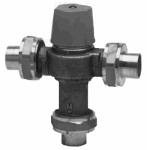 Watts Brass & Tubular LF1170M2-UT 3/4 Thermostatic Mixing Valve, Lead-Free, 3/4-In.