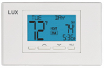 Lux Products TX9100U Programmable Thermostat, 2-Heat, 1-Cool, 7-Day