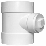 "Genova Products 71320 2""PVC/DWV Test Tee/Plug"