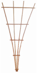 Heartland Home & Garden 87570 Fan Trellis, Wood, 42 x 90-In.