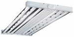 Cooper Lighting HBL632RT2 Metalux F Bay Fluorescent Light Fixture, T8, 6-Lamp, 2 x 4-Ft.