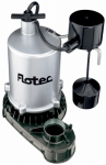 Pentair Water FPZT7350 Sump Pump, Zinc Construction, .5-HP Motor, 6,000 GPH