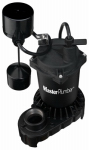 Pentair Water 176950 Sump Pump, Cast Iron & Zinc Construction, 1/3-HP Motor, 4,200 GPH