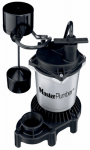 Pentair Water 176951 Sump Pump, Cast Iron & Zinc Construction, .5-HP Motor, 4,700 GPH