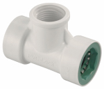 Orbit Irrigation Products 33772 Underground Sprinkler Tee, 1/2 PVC Lock x 1/2 PVC Lock, x 1/2-In. FPT