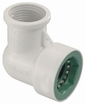 Orbit Irrigation Products 33775 Underground Sprinkler Elbow, 1/2 PVC Lock x 1/2-In. FPT