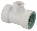 Orbit Irrigation Products 35671 Underground Sprinkler Tee, 1 PVC Lock x 1 PVC Lock x 1/2-IN. FPT