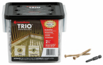 Omg FMTRD212-350 Deck Screws, Brown, 2.5-In., 350-Pk.