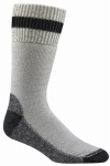 Wigwam Mills F2062-792 LG Diabetic Socks, Thermal, Gray & Black, Men's Large