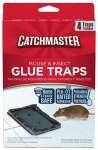Ap & G 104 Baited Mouse Glue Trap, 4-Pk.