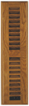 Imperial Mfg Group Usa RG2240 Floor Register, Louvered, Light Oak, 2.25 x 12-In.