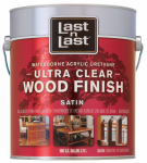 Absolute Coatings Group 13101 Waterborne Wood Finish, Ultra Clear Satin, 1-Gal.