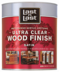 Absolute Coatings 13104 QT CLR or Clear or Cleaner Satin Wood or Wooden Finish