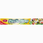 """Personal Care Products 92798-8 100 ft Cling Wrap Clear Plastic Wrap (12"""" x 100ft)."""