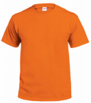 Gildan Usa G2000ORG-M T-Shirt, Short-Sleeve, Safety Orange Cotton, Medium
