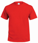 Gildan Usa 298498 T-Shirt, Short-Sleeve, Red Cotton, XL