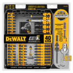 Dewalt Accessories DWA2T40IR 40-Pc. Screw Driving Impact Ready Set