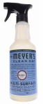 S C Johnson Wax 17941 Mrs. Meyer's Clean Day,  Multi-Surface Everyday Cleaner, Bluebell Scent, 16-oz.