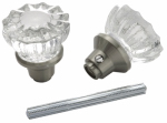 Belwith Products 1140-SN 2 Glass Knobs With Spindle