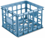 Sterilite 16924306 Sterilite Storage Crate, Blue, 15.25 x 13.75 x 10.5-In.