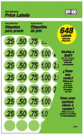 Hy-Ko Prod 30101 Price Labels, Green, 3/4-In., 648-Pc.
