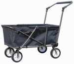 Zenithen Limited OB002S-TV05 Work Wagon, Folding, Steel & Polyester, 40.92 x 20.46 x 38.56-In.