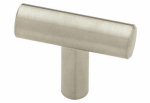 Brainerd Mfg Co/Liberty Hdw P02140H-SS-C 40mm Stainless Steel Long Handled or Left Hand Bar Cab Knob