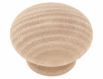 Brainerd Mfg Co/Liberty Hdw P10513C-BIR-U1 Cabinet Knob, Round, White Birch, 1.5-In., 10-Pk.