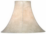 Kenroy Home FMSH113-15-TN TAN BELL SHADE