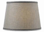 Kenroy Home FMSH802-15-SIL SILVER DRUM SHADE