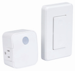 Amertac-Westek RFK1600LC Wall Switch, Wireless, White