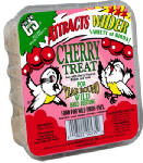 C & S Products 12535 11.75-oz. Cherry Treat Suet Cake