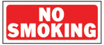 "Hy-Ko Prod 23003 ""No Smoking"" Sign, 6 x 14-In."