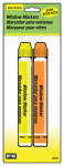 Hy-Ko Prod 40616 Window Markers, Neon Orange & Yellow, 2-Pk.