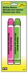 Hy-Ko Prod 40617 Window Markers, Neon Pink & Green, 2-Pk.