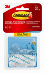 3M 17092CLR-VP Command 6PK CLR or Clear or Cleaner Hook